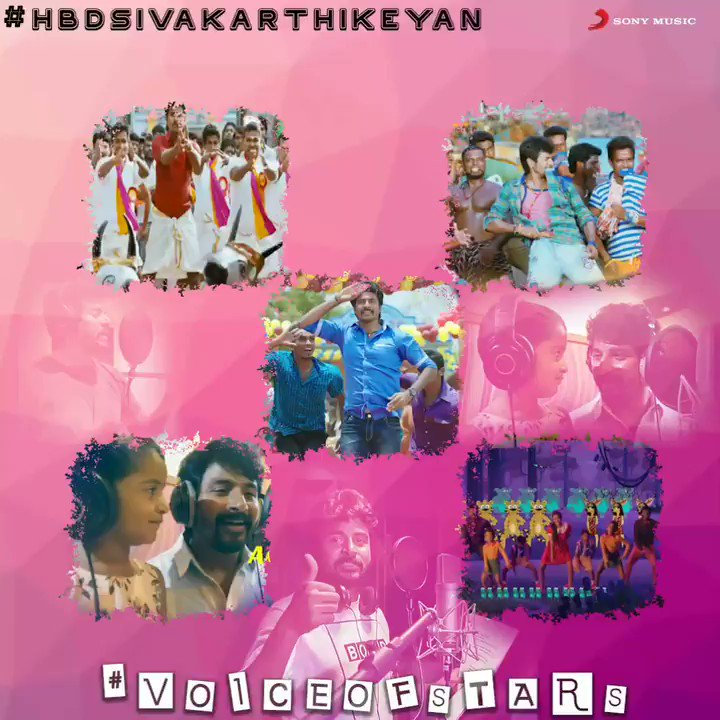 On the occasion of the entertainer @Siva_Kartikeyan 's birthday enjoy these catchy tracks sung by him!🤩💥   Watch and tell us your pick in the comments! 🎶🥳  ➡  #HBDSivaKarthikeyan