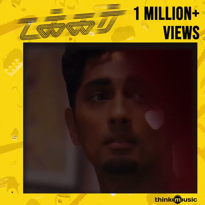 It's massive 1️⃣ Million + Views for  mesmerizing song #MaragathaMaalai  from #Takkar    #1MillionLoveForMaragathaMaalai  @nivaskprasanna  @Karthik_G_Krish @Poet_Umadevi_3 #Siddharth @Chinmayi @IAMVIJAYYESUDAS @pradeepvijay @itsdivyanshak