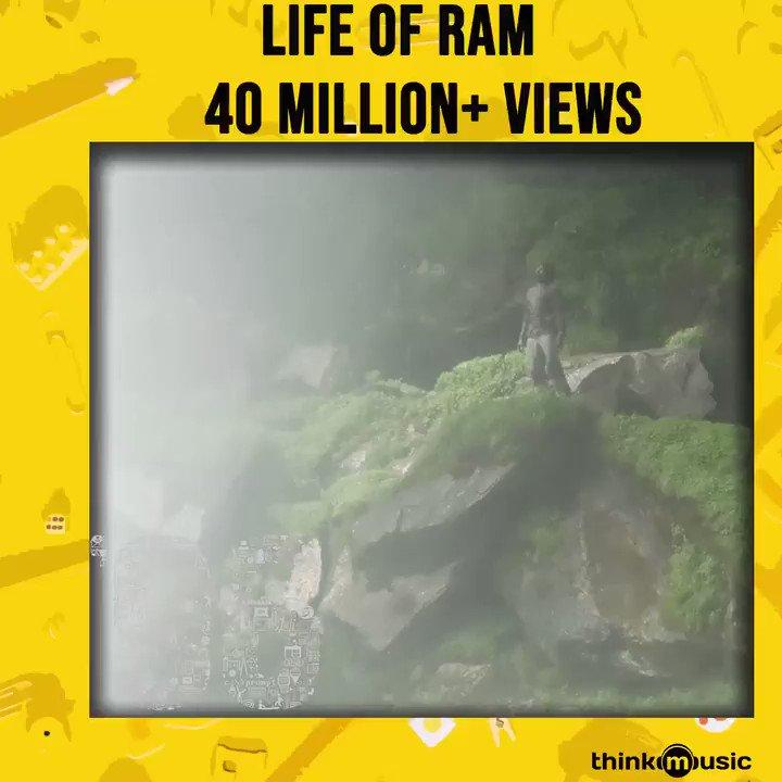 நேற்றின் இன்பங்கள் யாவும் கூடியே இன்றை இப்போதை அர்த்தம் ஆகுதே இன்றின் இப்போதின் இன்பம் யாவுமே நாளை ஓர் அர்த்தம் காட்டுமே   It's massive 4️⃣0️⃣ Million + Views for #LifeofRam from #96TheMovie   @govind_vasantha musical  @VijaySethuOffl