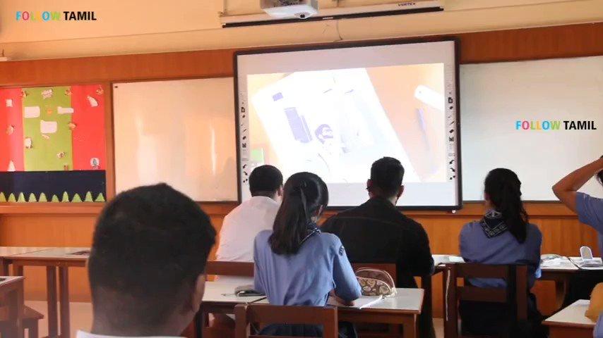 Foreign students watching #KuttiStory song during school hours and enjoying.  The reach of the song is veralevel bcoz of @actorvijay voice, @Arunrajakamaraj simple lyrics, @anirudhofficial music & @filmmaker_logi creativity👌  @RIAZtheboss @Jagadishbliss @MrRathna @imKBRshanthnu