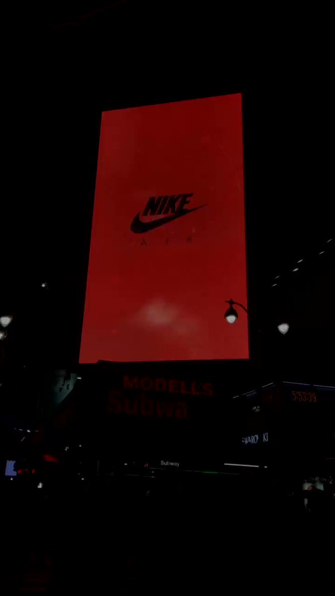 """First directorial debut w/ @Nike """"Until We All Win"""" BHM 20 Campaign up at 34th Street in NYC! 🤎🙏🏿💥 #Nike #BHM #UntilWeAllWin"""