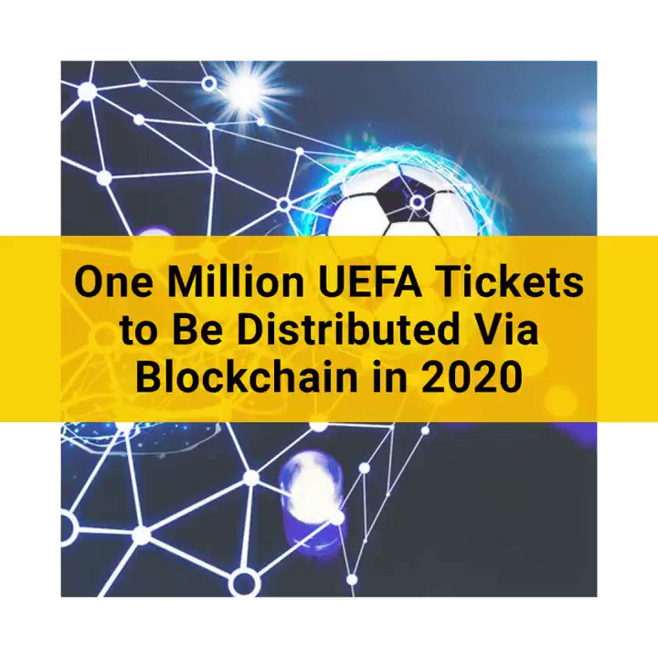 UEFA will distribute over one million soccer tickets via a blockchain-based mobile app by the end of May. https://t.co/Hs64i8p3QH