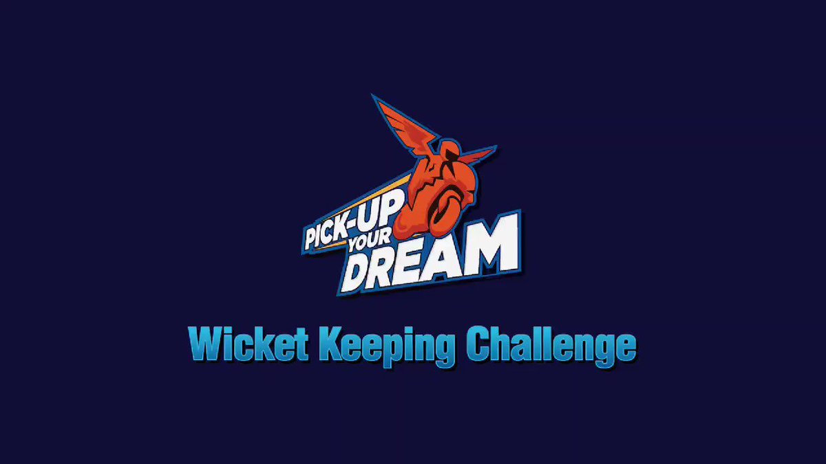 Can you effect a run-out like Thala #Dhoni?  Take up the online wicketkeeping challenge today by uploading your video on FB, Insta or TikTok using  #PickUpYourDream2 @GulfOilIndia  Lucky winners could learn cricket in person from @msdhoni & @hardikpandya7