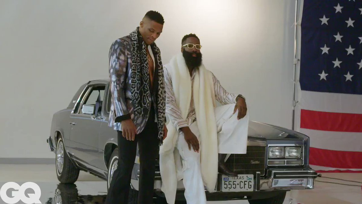 @russwest44 @JHarden13 @Mark_A_Green So fresh and so clean!