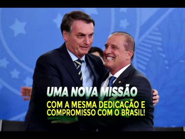 Uma nova missão com a mesma dedicação e compromisso com o Brasil.   A íntegra está em