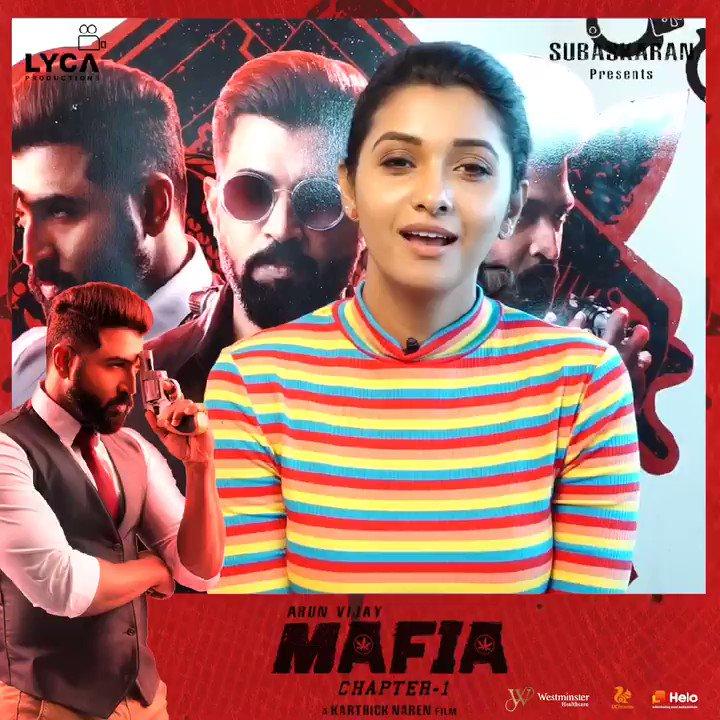 Watch @priya_Bshankar 😌 break her barriers 🚧 in MAFIA 🍁  2️⃣ Days To Go for #MAFIA 🍁 Feb 21 Worldwide Release 🌍  @arunvijayno1 🦁 @karthicknaren_M 🎬 @Prasanna_actor 🦊 #PriyaBhavaniShankar 😌 @JxBe 🎸 @DoneChannel1 #TheHunter 🏹 & #TheBeast ☝️😈 #MAFIAFromFeb21