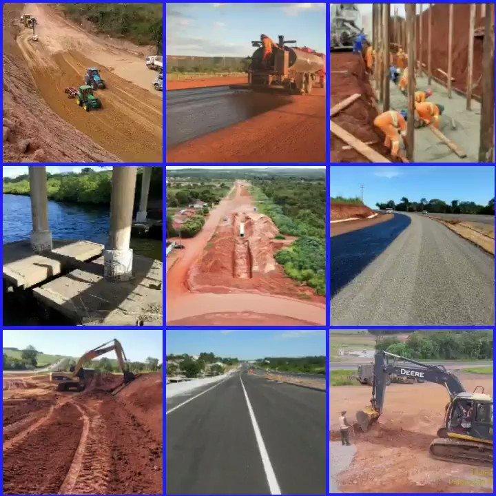 Obras de manutenção, complementação e conservação nas rodovias do Brasil seguem o acelerado fluxo de demandas de nosso Governo. Bom trabalho @DNIToficial @MInfraestrutura e @exercitooficial : BRs101/SE, 287/RS, 419/MS, 163/PR, 316/PA, 116/RS, BRs 280,476,163, 376, 158 e 373.