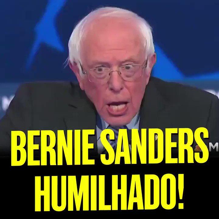 Lógico que Bloomberg não é um grande nome, mas sempre bom ver Bernie Sanders se ferrando.
