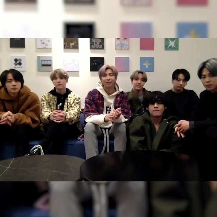 .@bts_bighit just dropped #MAP_OF_THE_SOUL_7. I'm talking to them about that and their hopes to collab with @theweeknd and @halsey (again). Tap in to #NewMusicDaily on @AppleMusic #BTSARMY #BTS