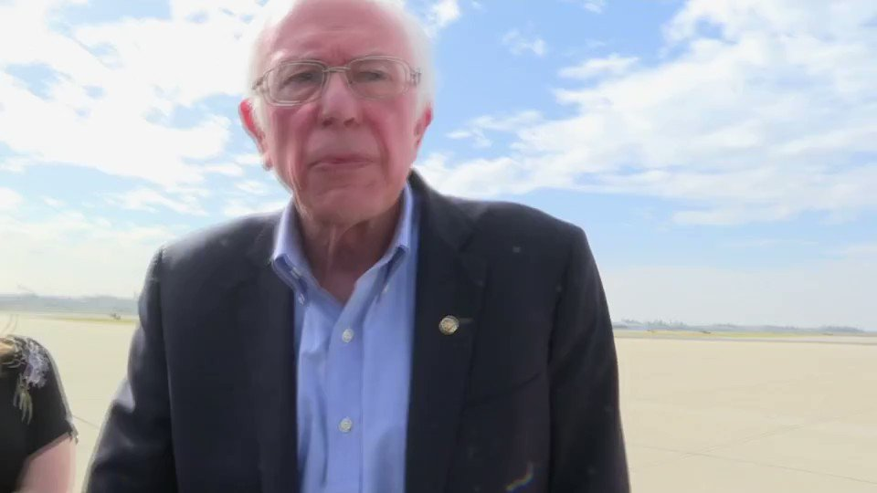 "Sen. Sanders on why he didn't publicize his knowledge of Russian interference despite learning about it a month ago.   ""I'll let you guess about it one day before the Nevada caucus. Why do you think it came out. Was it the Washington Post? Good friends."""