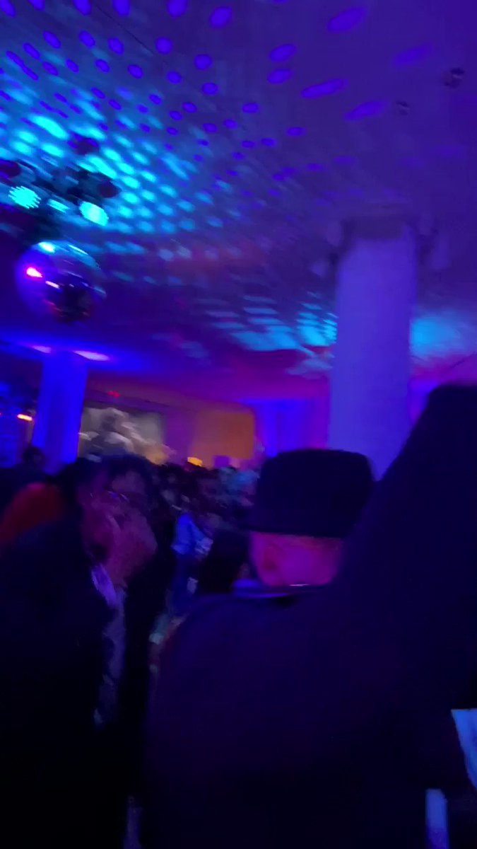 Dance floor vibes during the @WestSideStoryUS premiere party.  Mother @RuPaul ALWAYS gets the party started ❤️  #livefromthedjbooth #westsidestorybroadway #djshyboy #shyboy #rupaul #aboutlastnight