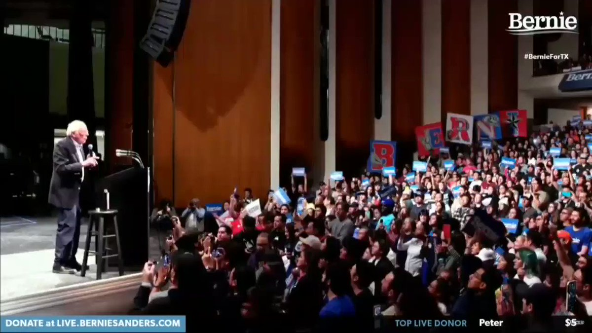 """Bernie Sanders: illegal immigrants are """"entitled"""" to the same government benefits as citizens"""