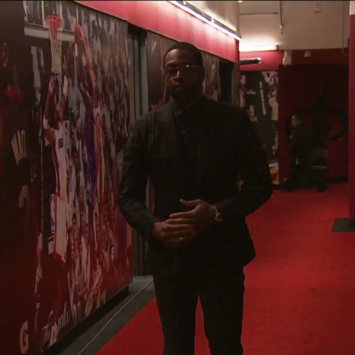 D-Wade Arrives for Jersey Ceremony