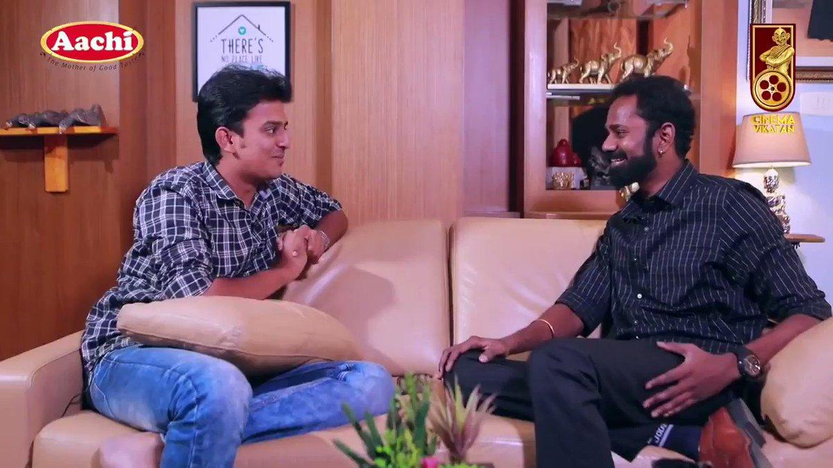 "Actor @thilak_ramesh shares his shooting memories with #ThalapathyVijay in #Master .   ""#மாஸ்டர் படம் தீயா இருக்கும் 🔥"" - #RameshThilak   @actorvijay @Dir_Lokesh @MasterOfficiaI #KuttiStory  VC - @CinemaVikatan -"