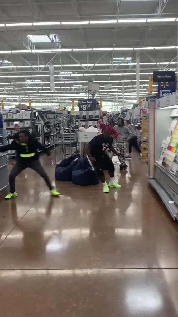"""I mean, WWE told us """"don't try this at home.""""   They never said anything about Walmart."""