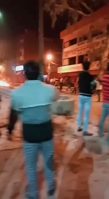 RSS gangs attacking Muslims in various parts of India. This is Sunday night....no Indian media will report this.... It's being done under official protection of police.  While media would focus on high profile Trump visit, genocide begins in the background. https://t.co/AHaZNrtEAY