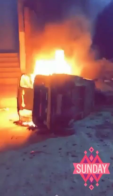 It's happening in various cities of India... Entire localities of Muslims are being burnt down, businesses robbed and vehicles destroyed.....🤬🤬 https://t.co/1LojG0GPh2