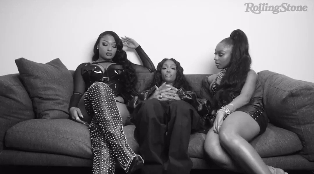 "Megan @TheeStallion, @SZA, and @Normani for ""The First Time"" video series from @RollingStone.  WATCH FULL:"
