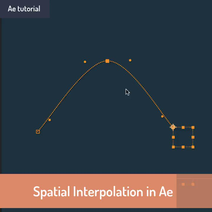 Ever wondered what exactly the difference between Auto Bezier, Continuous Bezier and Bezier is in Ae? Learn the basics of spatial interpolation in 2 minutes! @aescripts https://t.co/Ufgx4uu2sU
