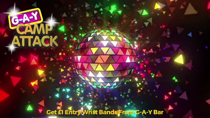 Tonight At G-A-Y Camp Attack   70s, 80s, 90s, 2000 To Present  @neilprincedj & @jkalifornia  +  Life Before Rihanna N Beyonce  @QBoyMusic & @Afrochickdj   FREE ENTRY Bitches  Go To   or  Get £1 Entry Wrist Bands At G-A-Y Bar