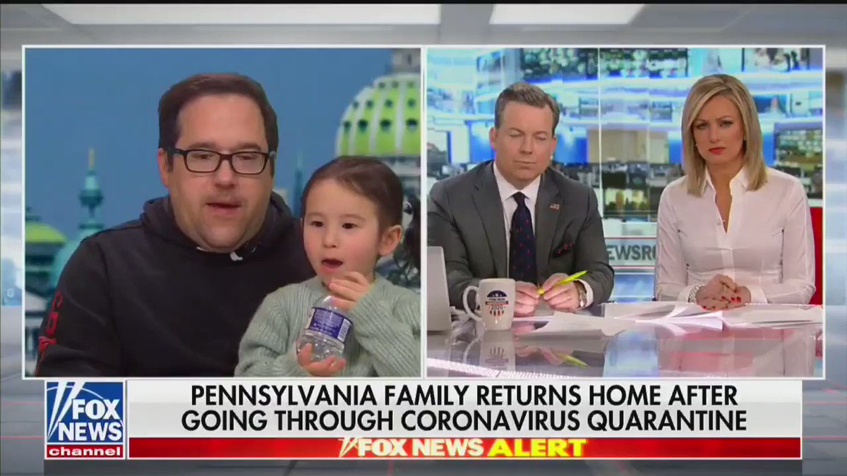 Fox News just interviewed a Pennsylvania man who went through the coronavirus quarantine process -- but he couldn't stop coughing during the interview 😳