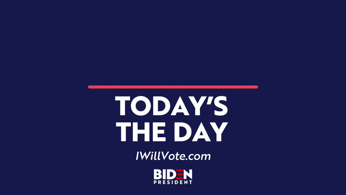 If you live in:  - Idaho - Michigan - Mississippi - Missouri - North Dakota - Washington  You vote today! Head to  to find all the info you need to make your voice heard.