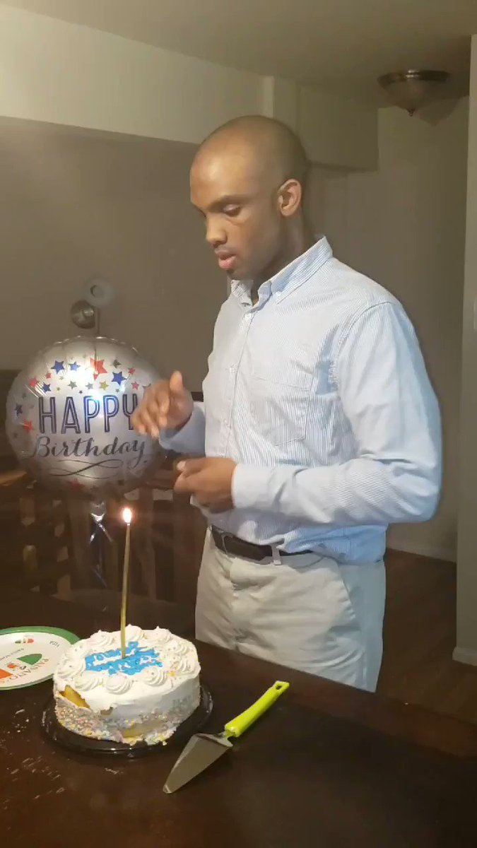 I don't usually post my family but... yesterday our non verbal son with autism celebrated his 29th birthday! At 2 yrs he was headed to an institution we were told he would never have a job, clean himself or life, today he works 40 hrs per week MVP #SPECIALOLYMPICS #grateful