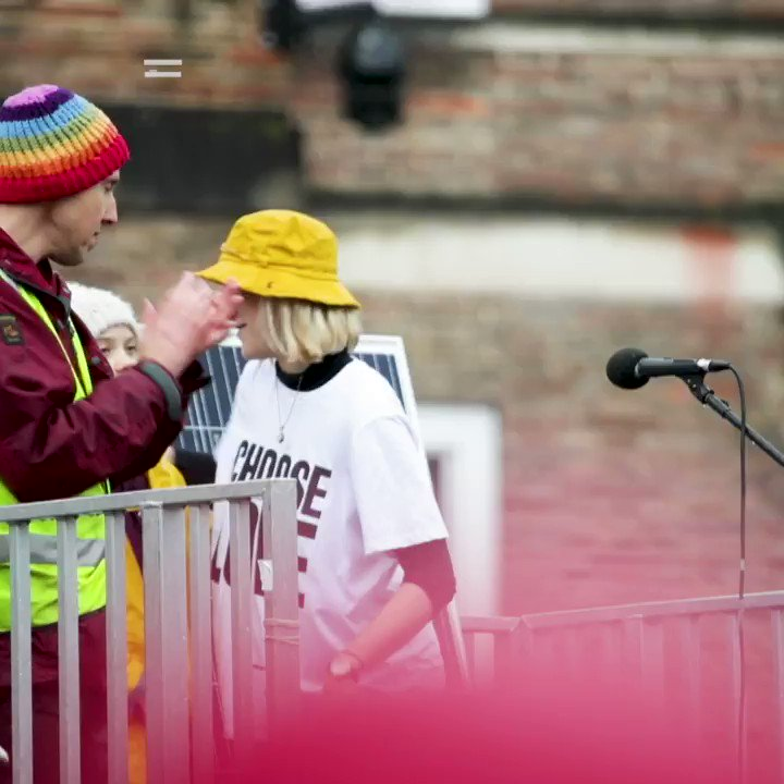 Two weeks ago, Greta Thunberg came to Bristol - and we welcomed her with open arms 👇 #ClimateEmergency https://t.co/vg4Zz4EGuk