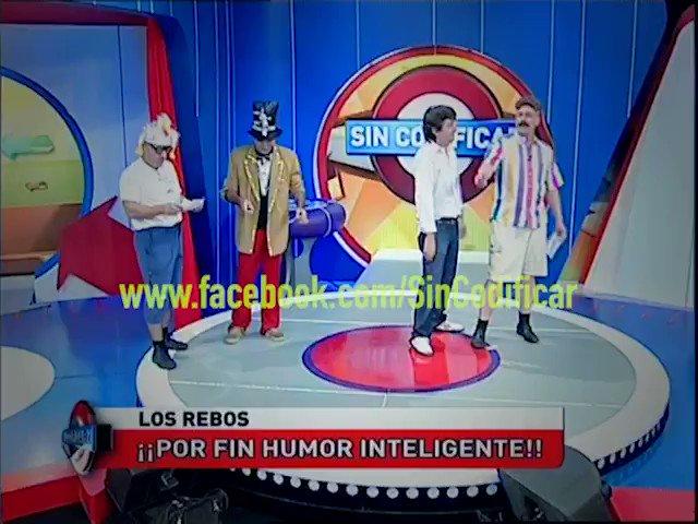 RT @SinCodificarTV: Humor de alto contenido creativoooooo ! #Rebos @yayobelgrano @Pichustraneo67 @magoruizdiaz https://t.co/Vjp3P3ImpV
