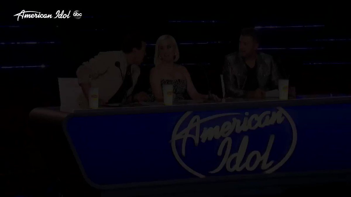 More #HollywoodWeek advice: don't try to be too extra, just be yourself! You'll just freak out @lukebryanonline @lionelrichie and me 😳 #AmericanIdol https://t.co/CIR9NwQop1