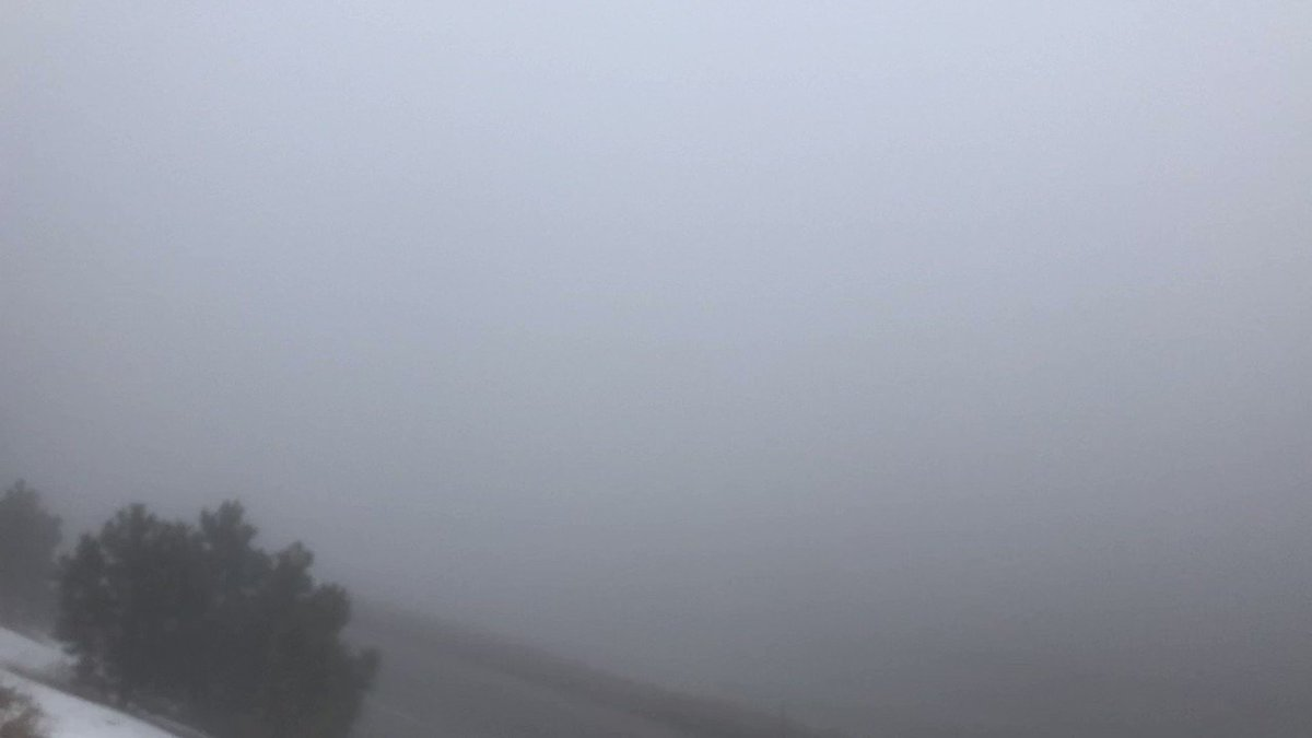 PINPOINT WX:    Foggy Friday AM.   I-70 Genesee.   Details #KDVR #KWGN.