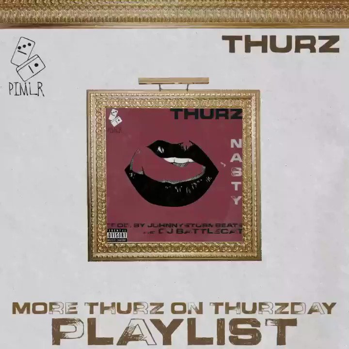 """updating this playlist every thurzday...subscribe to the """"more thurz on thurzday"""" playlist on #applemusic #spotify #soundcloud"""