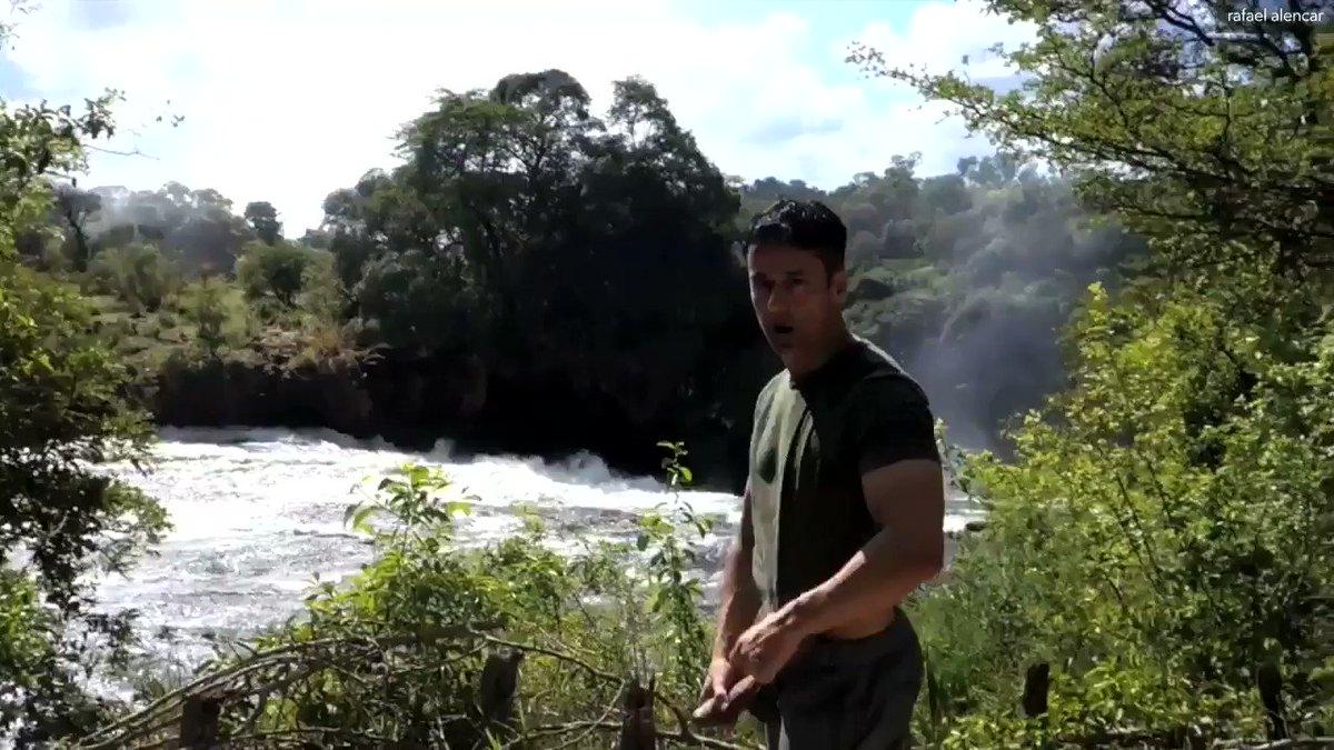 """""""Jerk Off at Victoria Falls - Zimbabwe"""" new at:  also at:  and:  with: @RAFAELALENCAR #rafaelalencar #jerkoff #masturbate #VictoriaFalls #waterfall"""