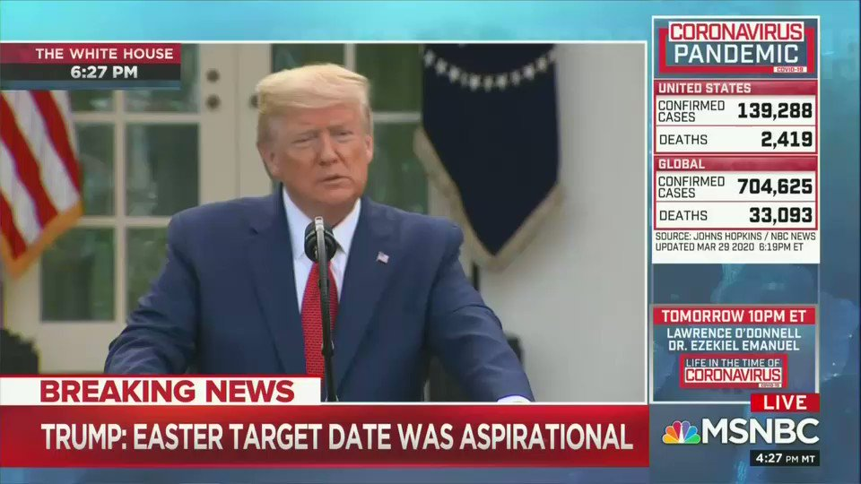 Watch as Trump gets defensive about his statement questioning how many ventilators Cuomo really needs.  Trump: When journalists get up and ask questions that are so threatening...  Yamiche: I was quoting you directly from your interview with Sean Hannity.