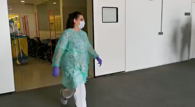 The cleaning staff at our hospitals are hardly ever mentioned and they also deserve a tribute!