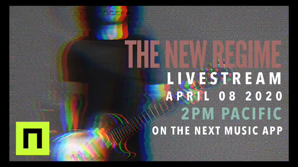 "We are going to be doing a livestream on the @nextmusiclive app on APRIL 8th 2020 at 2PM PACIFIC TIME / 5PM EASTERN / 10PM BST. This will be a broken down set of music from ""Heart Mind Body & Soul"".   Download the NEXT Music app and go here:"