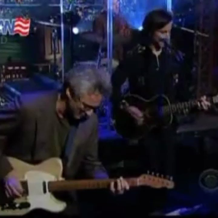 Marianne performs on Live on The Letterman Show 11 years ago today, to promote her album 'Easy Come Easy Go'.