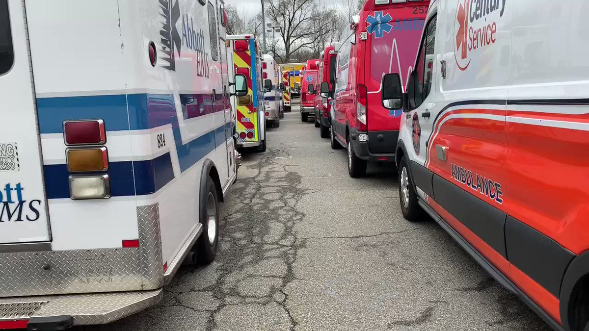 Thank you to the approximately 500 EMTs and paramedics who have arrived in New York City from around the country to join us on the front lines of the city's response to COVID-19. Read more: