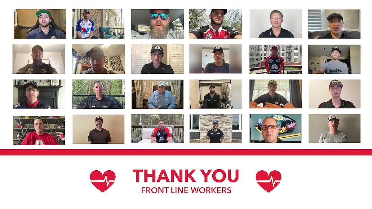 To our everyday heroes, we say thank you.