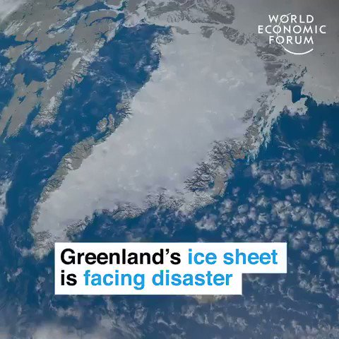 11 billion tons of Greenland ice melted in just one day - equivalent to 4 million Olympic size swimming pools.  No time to waste, no planet B. #ActOnClimate  #climateaction #climate #energy #go100re #GreenNewDeal