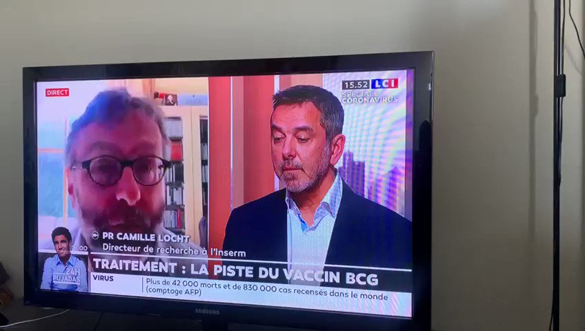 """Absolutely frightening.  Two French doctors are discussing live on TV how new treatment against #covid19 should be first tested in #Africa.  """" – Like it's done for HIV and with sex workers – You're absolutely right, we're going to seriously think about it"""""""