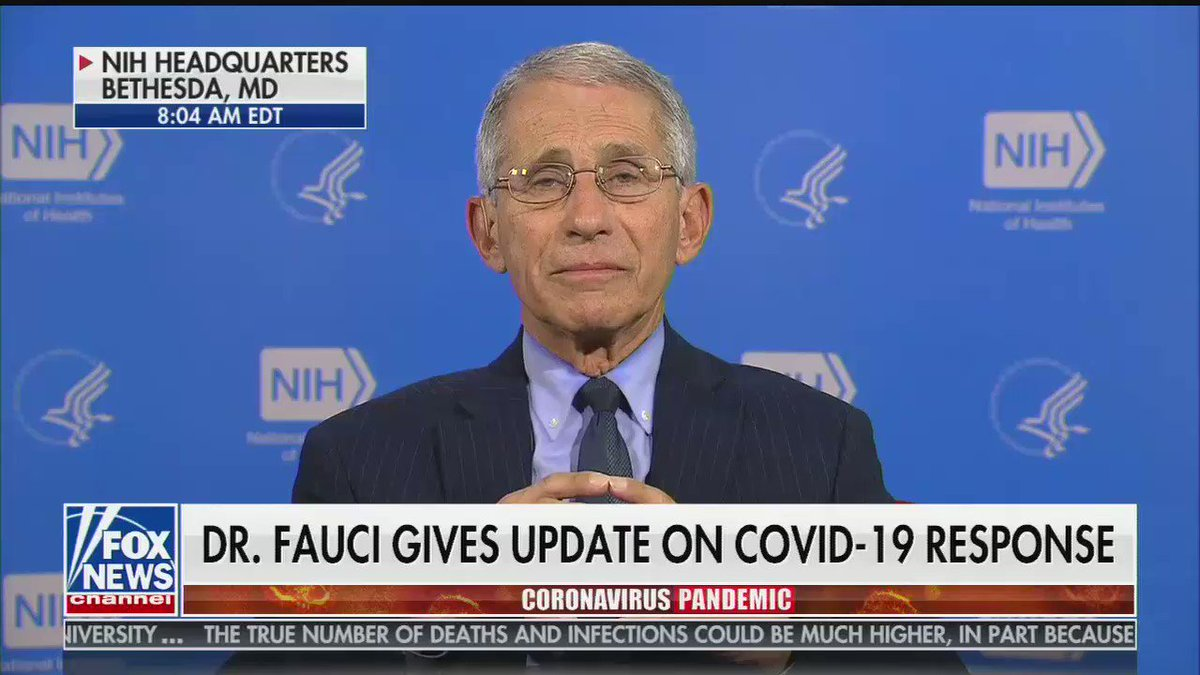 Brian Kilmeade tried to Foxsplain unproven coronavirus drug treatments to Dr. Anthony Fauci. It did not go great.