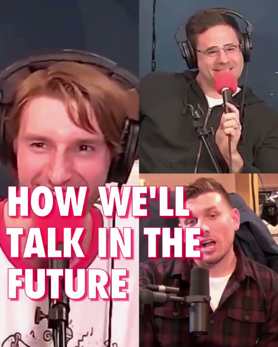 No one knows what's happening in the coming months but @jeremiahstandup , @chrisdcomedy & @yannispappas think there's gonna be a whole new language guy!!! • Full guest ep with Jeremiah is up everywhere! #History #Future #Language #AOC #Comedy #Podcast #HistoryHyenas