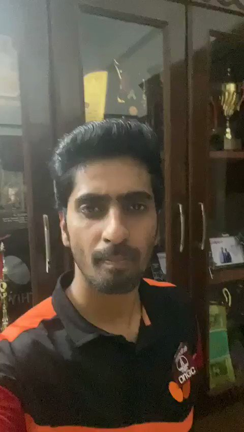 RT Sunil_Deodhar : India's leading Table Tennis player & a Gold medal winner in CWG, sathiyantt has urged the people of India to stay in support with our Hon'ble PM narendramodi Ji and lighten a Diya/Candle to show our unity against #Covid_19  #9PM9minute