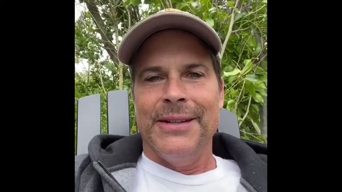 Ohio's resolve to #FlattenTheCurve has caught the attention of former #Ohio resident, @RobLowe! He sent us this message yesterday to share with you today. ⬇️ Everyone (especially younger Ohioans) should hear his message encouraging you to #StayHomeOhio.   #InThisTogetherOhio