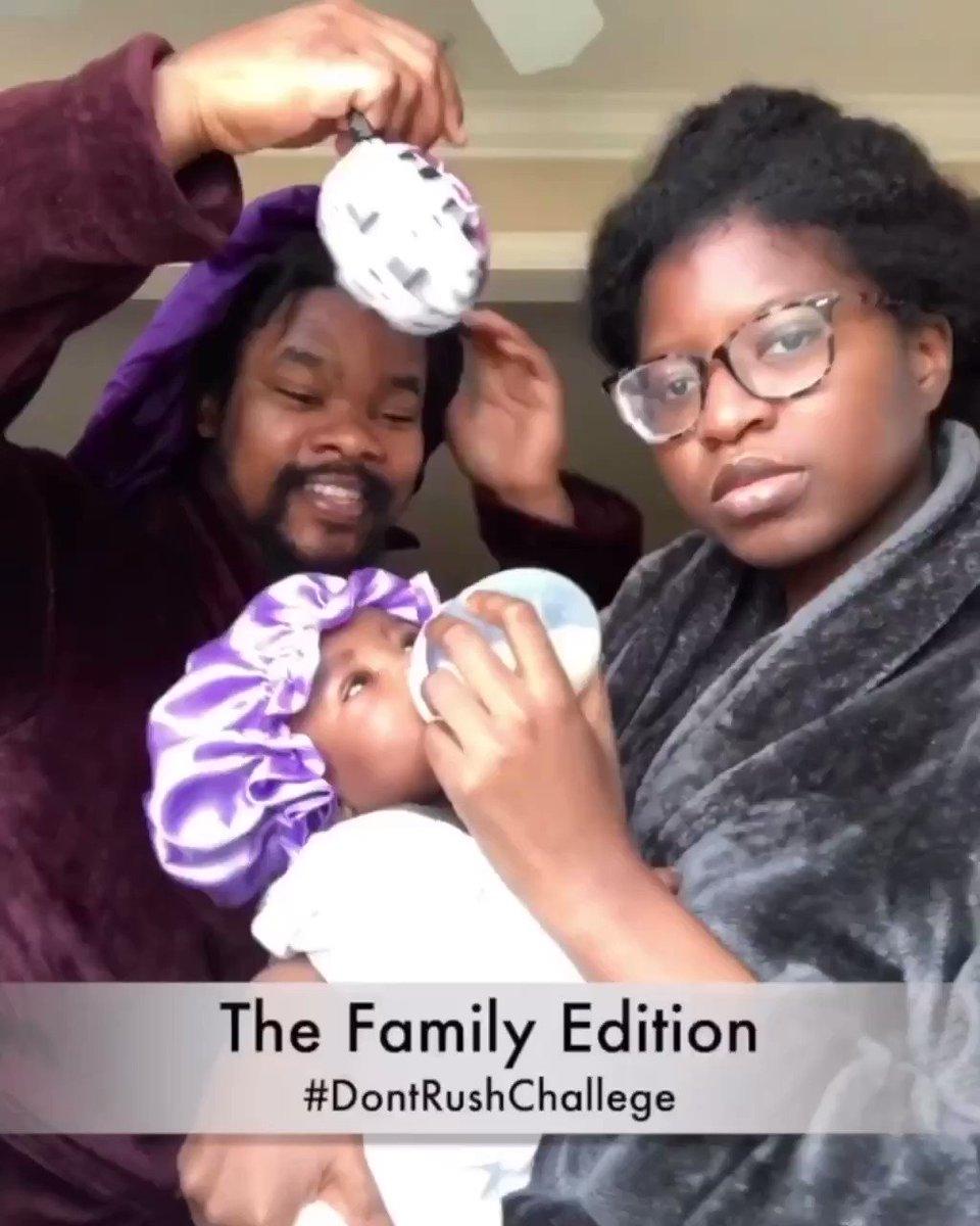 Black love family edition. 🖤🥰 #dontrushchallenge