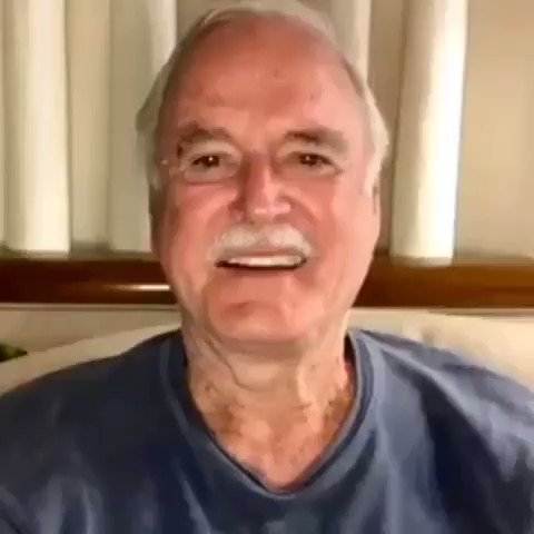 I have joined @BookCameo and am available to do shoutouts, greetings, and violent threats. Know someone with a birthday or have an enemy with something you want? Well, you can hire me to send them a message. Visit  for more info. #johncleese
