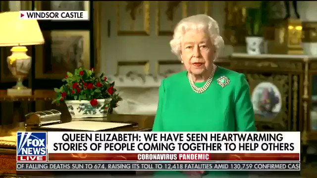 """""""While we have faced challenges before, this one is different.   This time, we join with all nations across the globe in a common endeavor...   We will succeed and that success will belong to everyone of us.""""   - Queen Elizabeth II"""