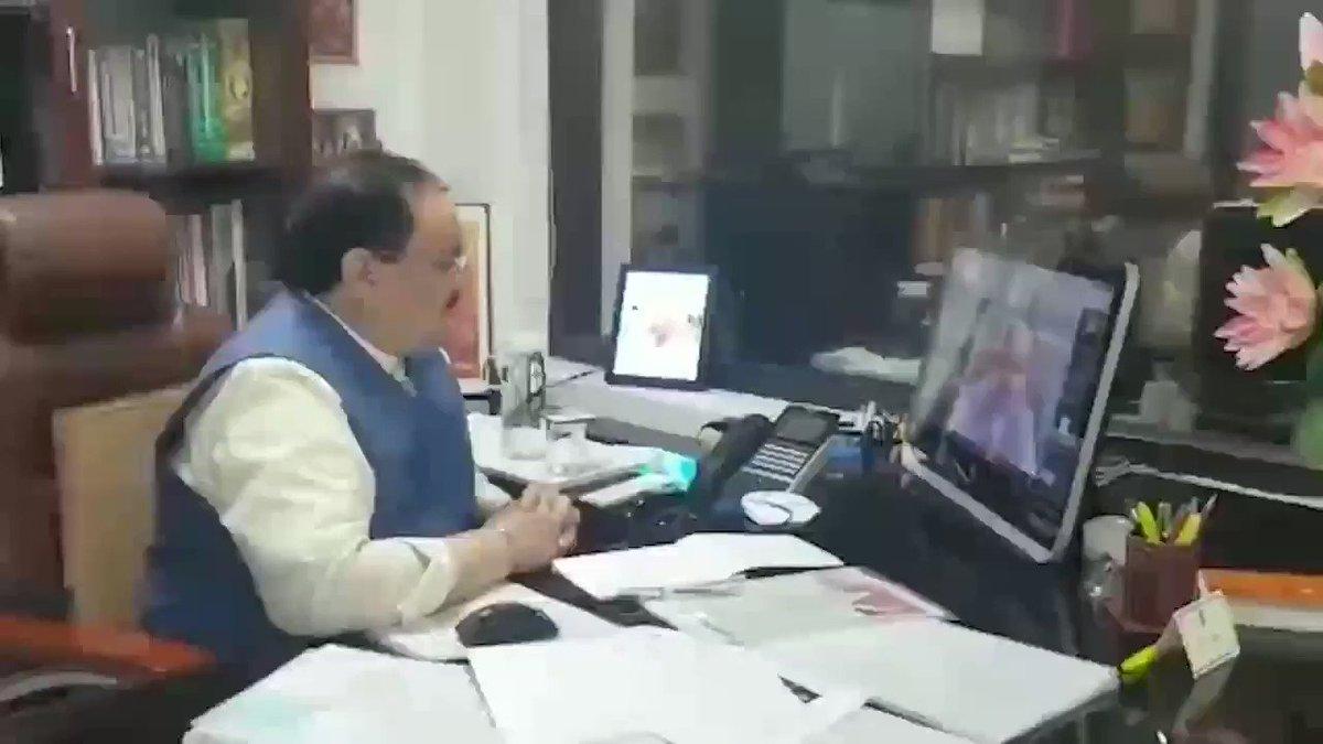 RT Sunil_Deodhar : RT JPNadda: आज वीडियो कांफ्रेंसिंग के माध्यम से BJP4India के राष्ट्रीय पदाधिकारियों, मोर्चा अध्यक्षों व प्रवक्ताओं के साथ चर्चा की।  कल देश ने एकजुट होकर आदरणीय प्रधानमंत्री narendramodi जी के आह्वान पर एक अद्भुत दृश्य प्रस्तुत किया जि…