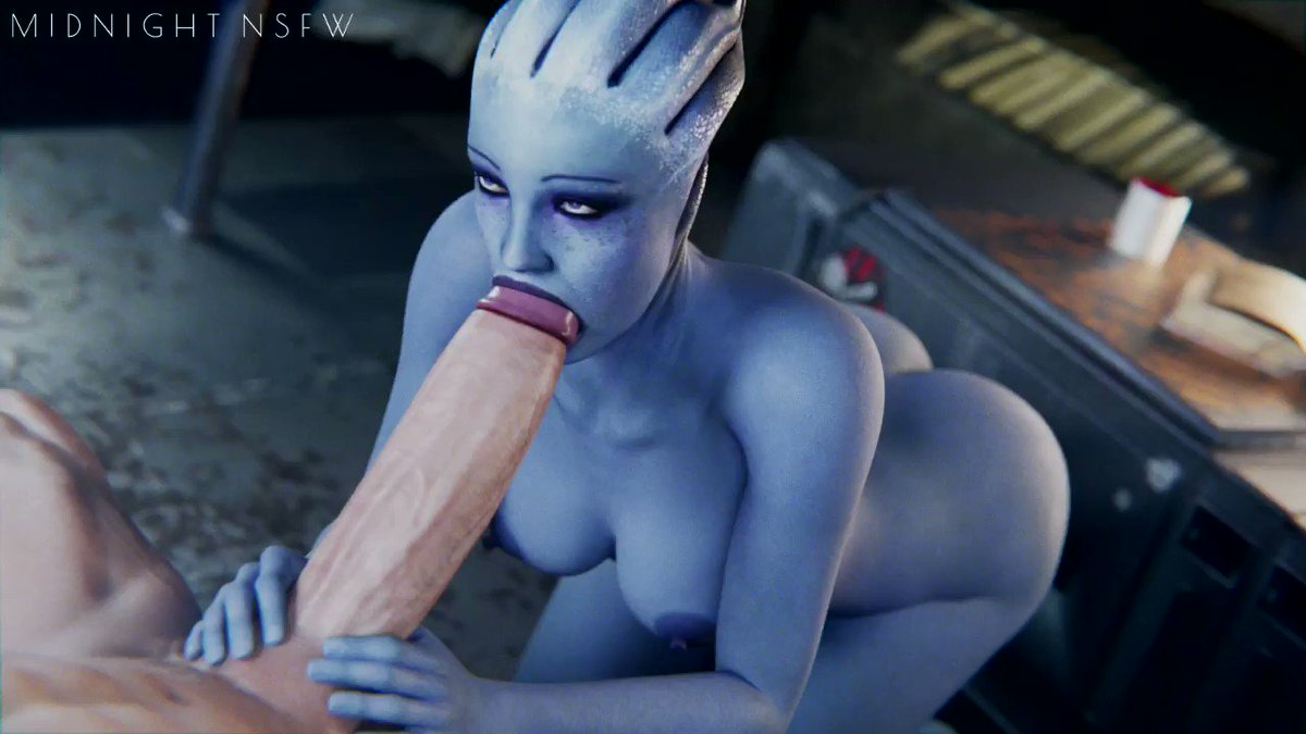 High res, without watermark on my Patreon:   Models by @1ceDev_ & @Rigid3d  #nsfw #r34 #rule34 #masseffect #liara